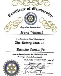 Rotary Club of RSF 2010