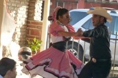 Irene Valenti with Rancho Santa Fe Rotary in Rosarito, Mexico