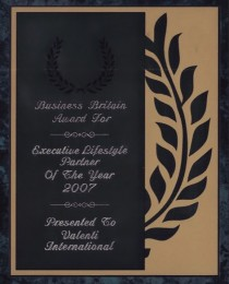 2007 Executive Lifestyle Partner Award