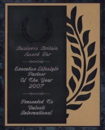 2007 Executive Lifestyle Partner Award