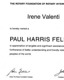 Paul Harris Fellow 2010